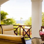 Residence Le Bleu Curacao - Sfeeropname Porch Met Uitzicht Begane Grond Appartement