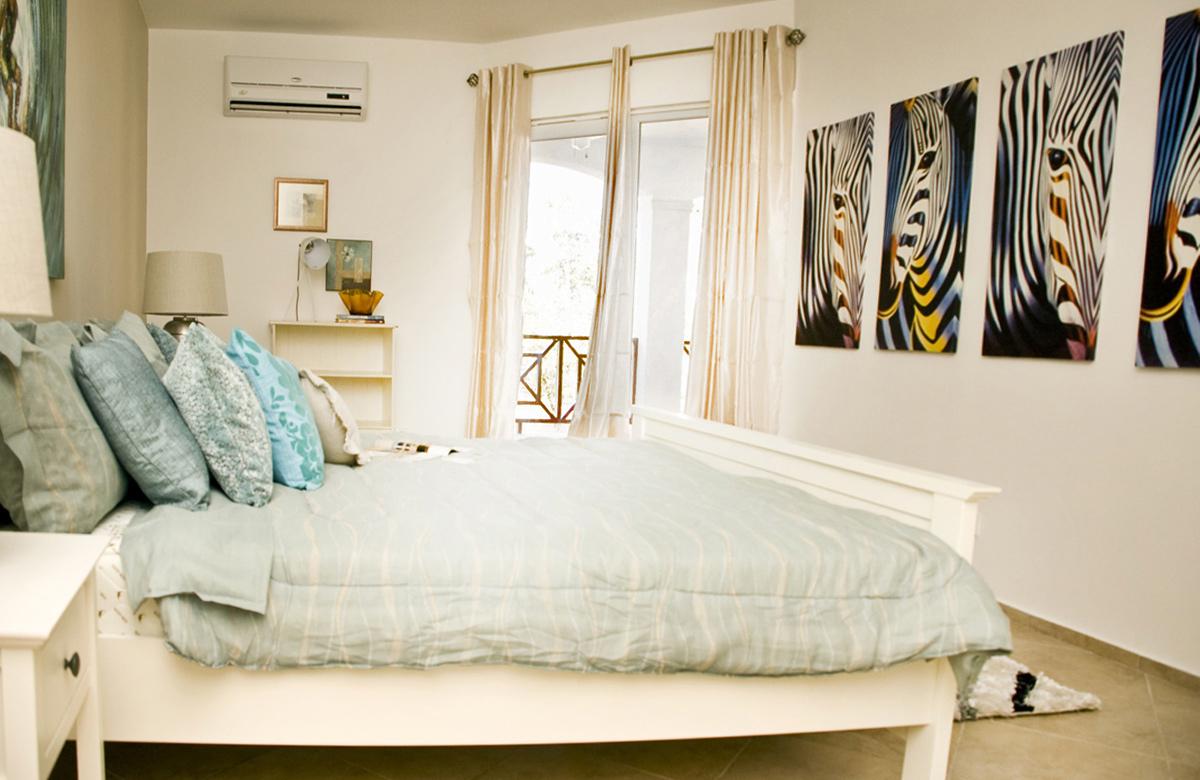 Master Slaapkamer Begane Grond Appartement - Residence LeBleu - Blue Bay Curacao