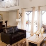 Woonkamer & Vide Penthouse Appartement - Residence LeBleu - Blue Bay Cuacao
